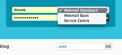 webmail-selecter