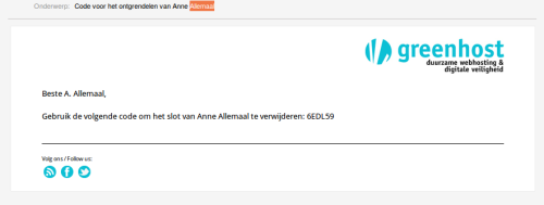 Administratie-Ontgrendelen-MailenCode